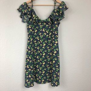 BeBop Lemon Off The Shoulder sz XL